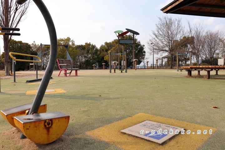 揚倉山健康運動公園健康遊具1