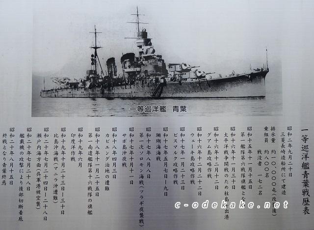 巡洋艦青葉終焉の地2