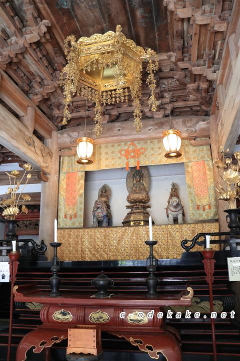 佛通寺釈迦三尊像