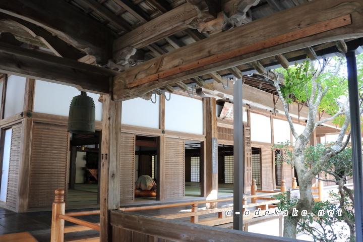 佛通寺大方丈の廊下