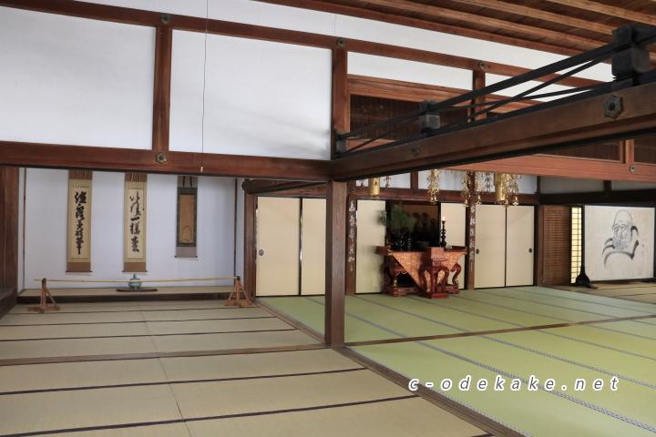 佛通寺の大方丈の大広間
