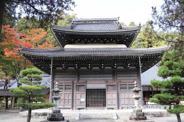 佛通寺の佛殿