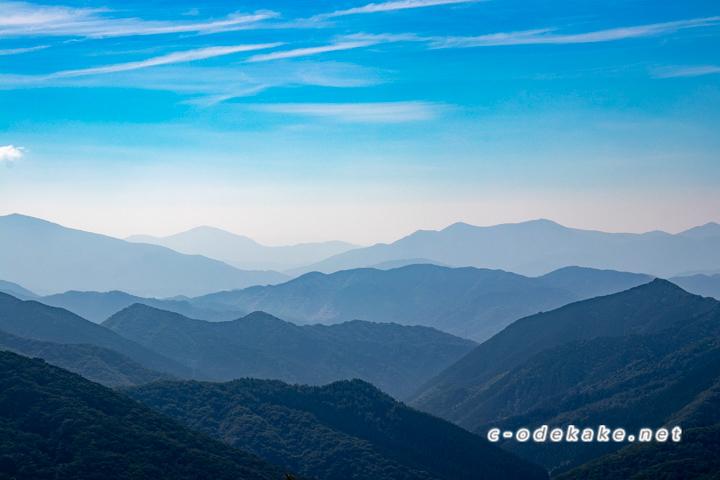 比婆山連峰