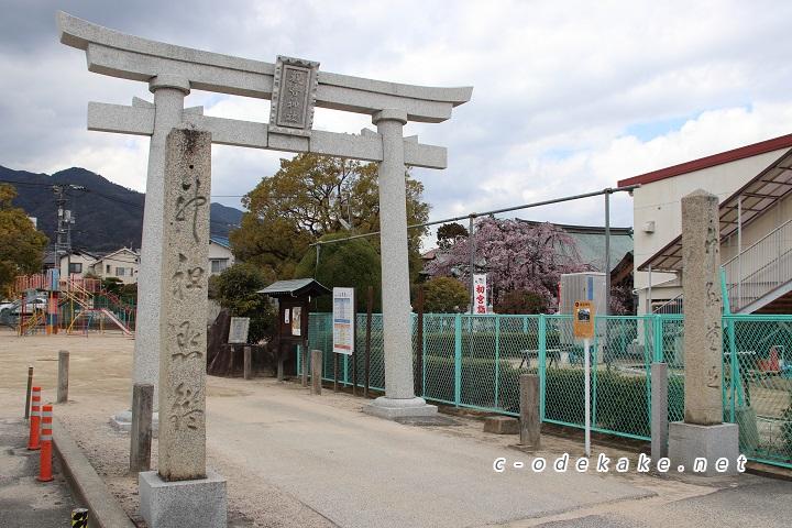 観音神社の鳥居