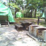 三瓶山北の原キャンプ場(常設サイト編)