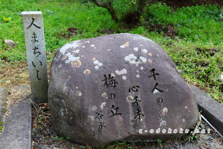 三隅神社人待ち石