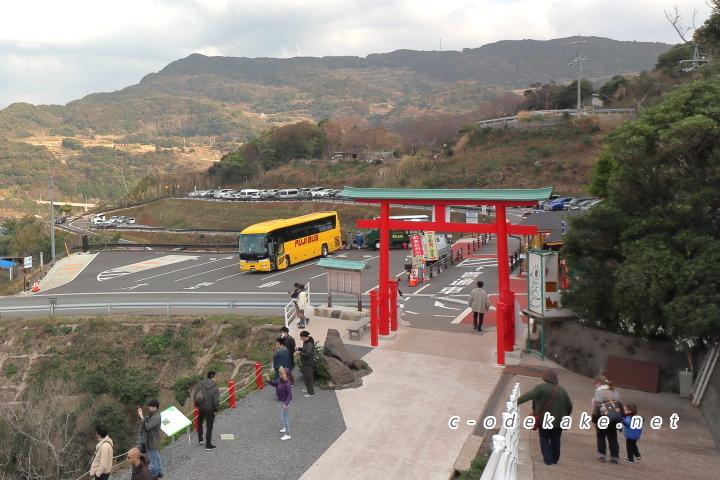 元乃隅神社第1駐車場