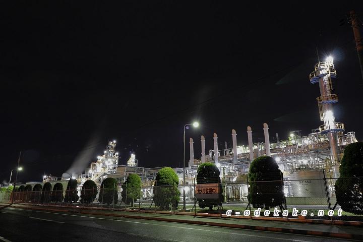 工場群の景色