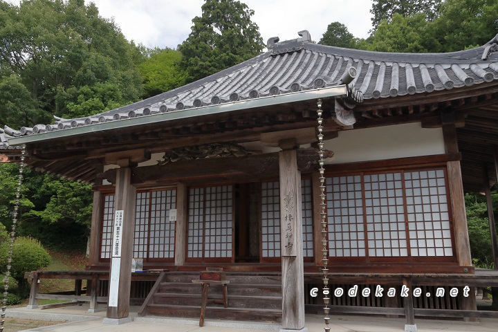 棲真寺の本堂